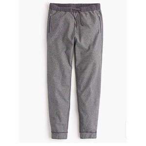 J.crew Men's zip pocket marled sweatpants/joggers